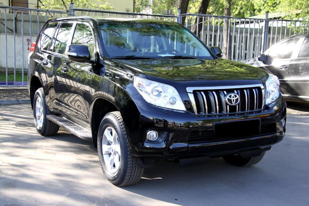 Аренда Toyota Land Cruiser Prado в Челябинске