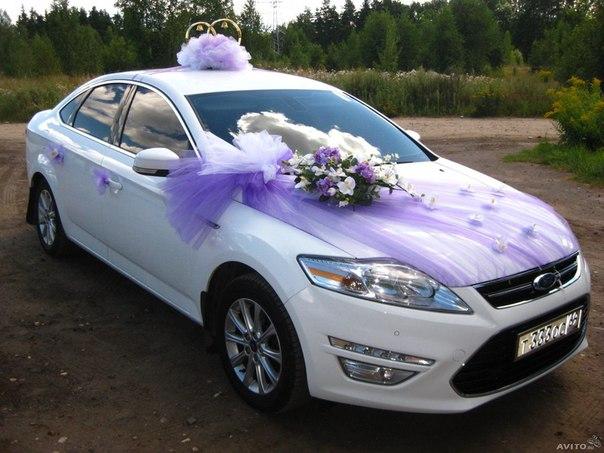 Украшения на машину на свадьбу белгород