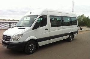 Аренда Mercedes-Benz Sprinter в Архангельске