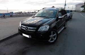 Аренда Mercedes-Benz GL-класс в Архангельске