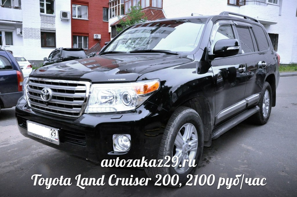Аренда Toyota Land Cruiser в Архангельске