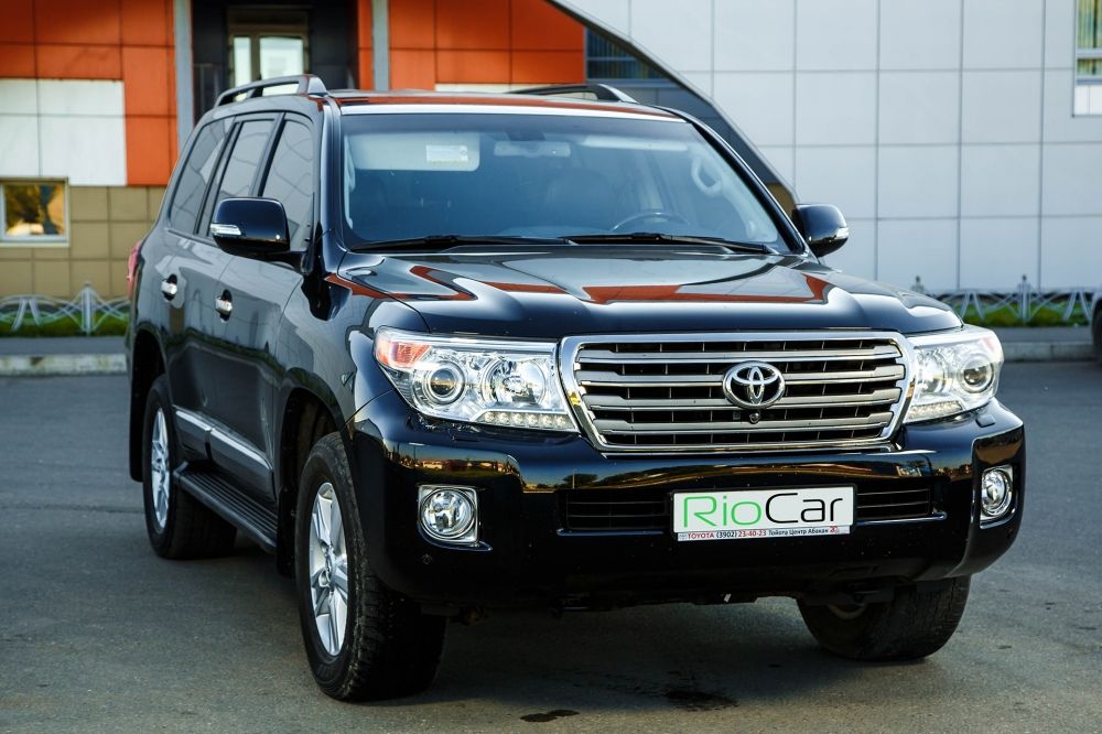 Аренда Toyota Land Cruiser в Абакан